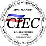 Board Certified Indoor Environmental Consultant